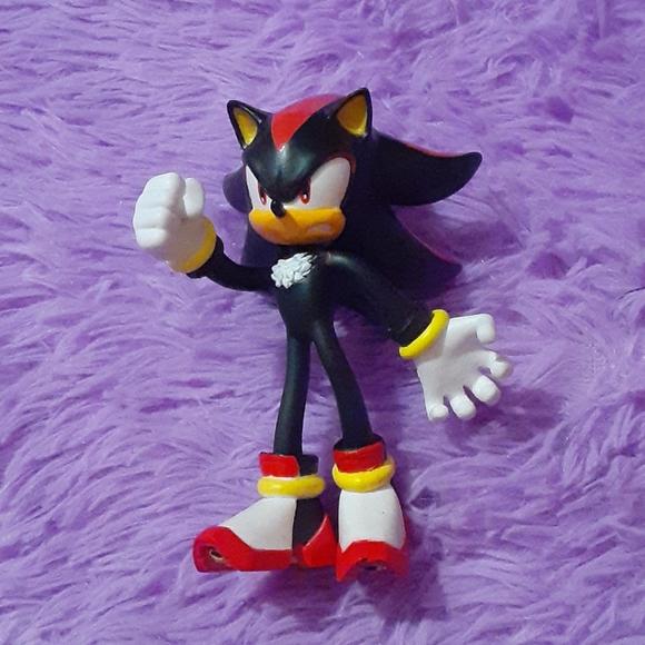 Shadow The Hedgehog Tomy Bendy Figure